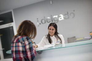 Recepción empresa J.Delgado